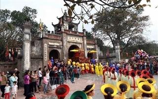 Hanoi Old Quarter decorated for Liberation Day celebration