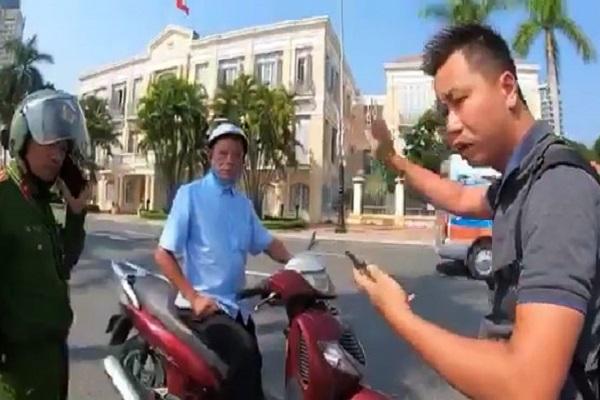 thanh niên,cảnh sát giao thông,Đà Nẵng,vu khống
