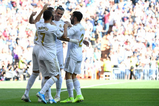 Hazard lập công, Real mở tiệc bàn thắng