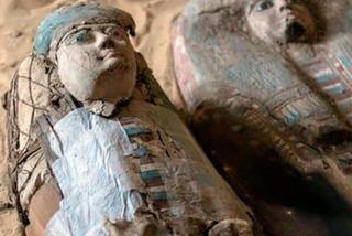 Vô tình phát hiện đền pharaoh 2.200 năm tuổi khi đào cống ở Ai Cập