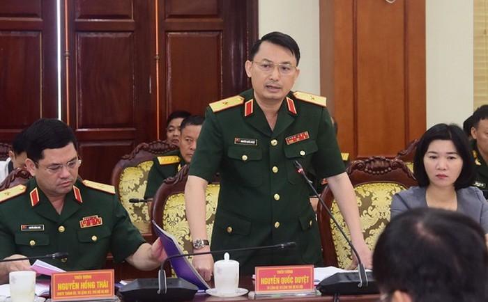 Thiếu Tướng Nguyễn Quốc Duyệt Lam Tư Lệnh Bộ Tư Lệnh Thủ đo