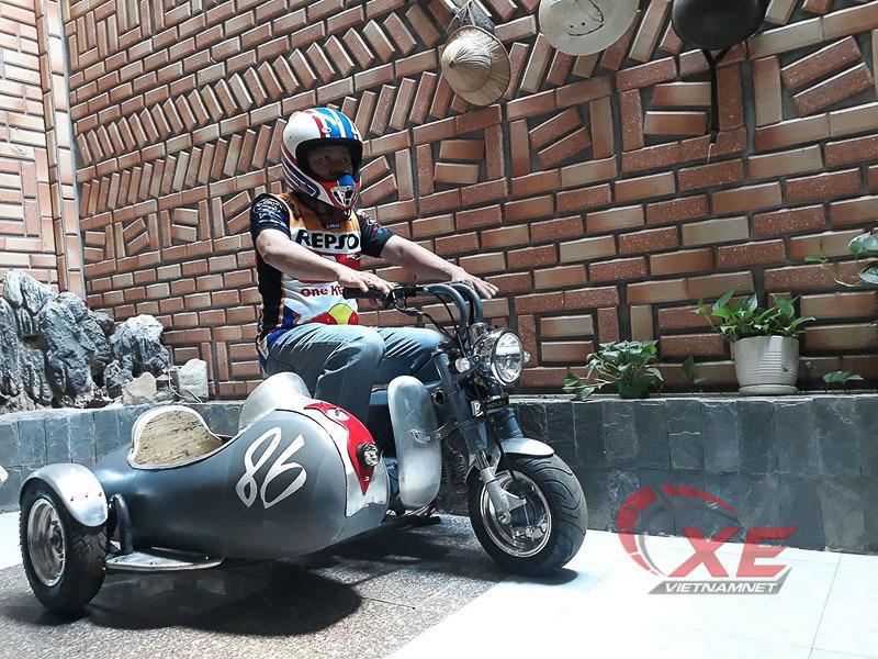 Honda 67,Chaly,độ xe,độ xe ba bánh,xe ba bánh