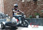 Độc đáo chiếc xe độ 3 bánh mini nhỏ nhất Việt Nam của thợ Bình Thuận