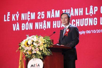 Toàn văn phát biểu của Bộ trưởng Nguyễn Mạnh Hùng tại lễ kỷ niệm 25 năm thành lập công ty Misa