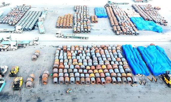 Imported steel floods into Vietnam