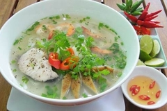 Fish cake noodles - a Phan Rang speciality