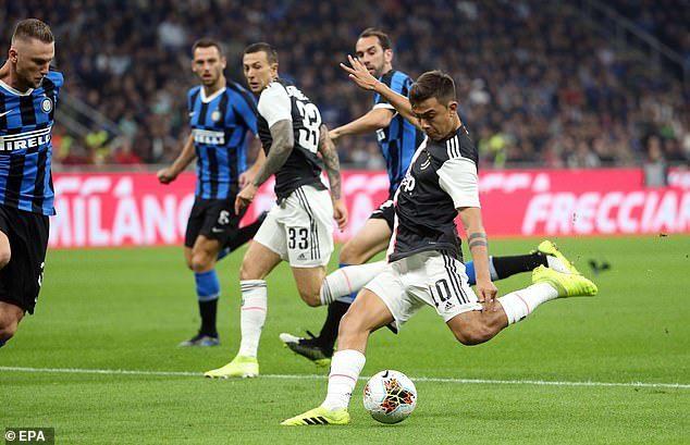 Ronaldo,Dybala,Higuain,Juventus,Inter Milan