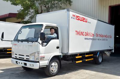 Xe tải thùng dài - giải pháp tối ưu chở hàng trong đô thị