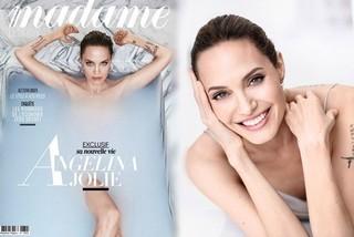 Angelina Jolie khỏa thân ở tuổi 43 trên bìa tạp chí