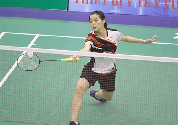 Vietnamese badminton player Thuy Linh out of Indonesian Masters