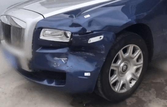 Những vụ va chạm với Rolls-Royce phải đền tiền tỷ gây sốt