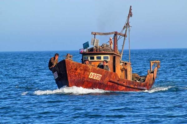 Tàu tuần tra Nhật đâm chìm tàu Triều Tiên