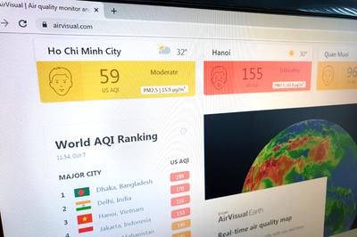 AirVisual là ai? Kết quả đo ô nhiễm không khí liệu có chính xác?