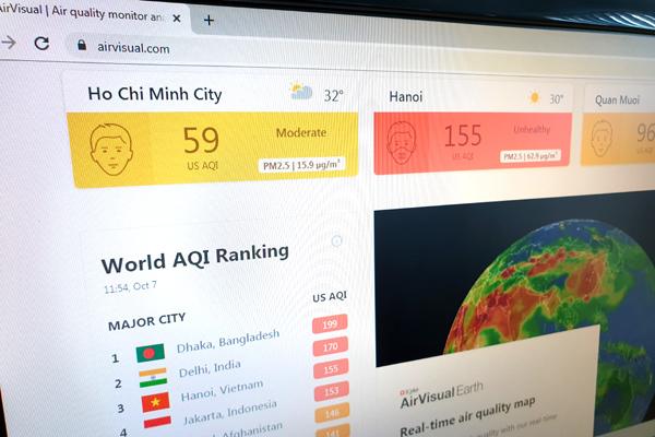 Vì sao ứng dụng AirVisual bị chặn ở Việt Nam?