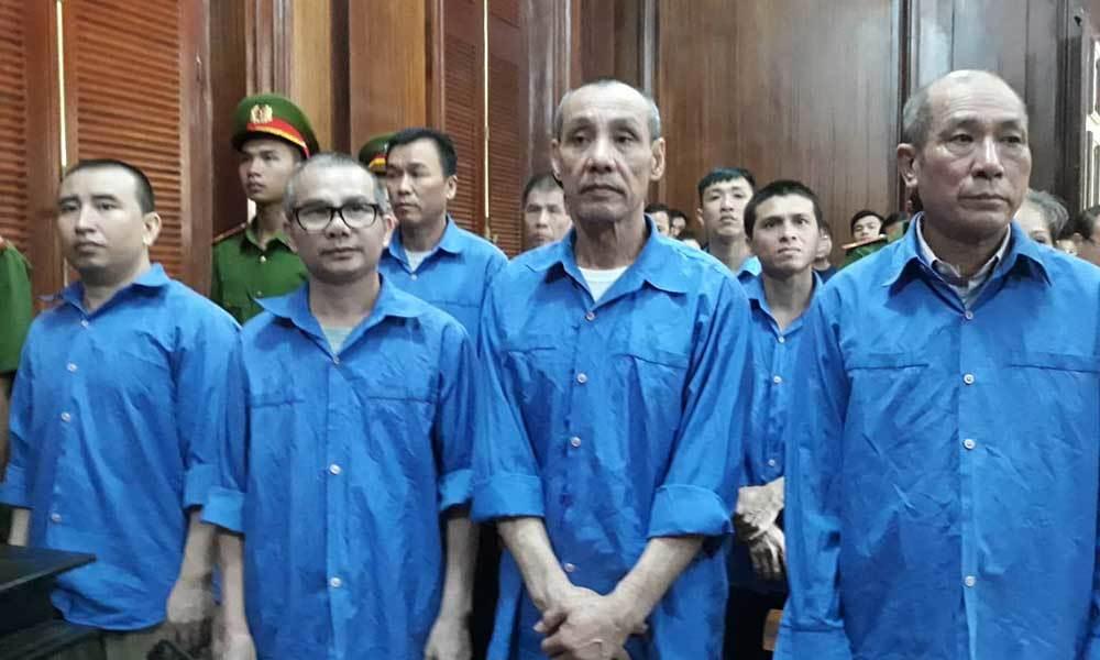 8 án tử cho đường dây ma túy xuyên quốc gia