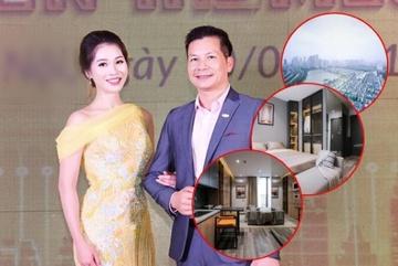 Căn hộ '5 sao' cao cấp của Shark Hưng và vợ Á hậu kém 16 tuổi