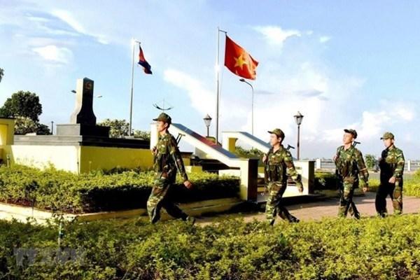 Vietnam, Cambodia work to build common border of peace