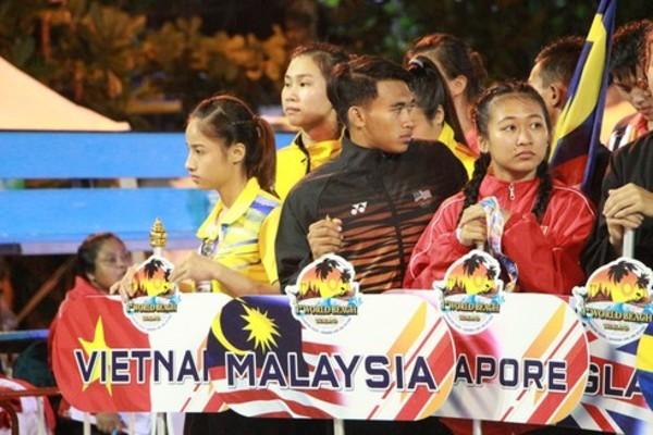Vietnamese martial artists win seven golds at World Beach Pencak Silat Champs