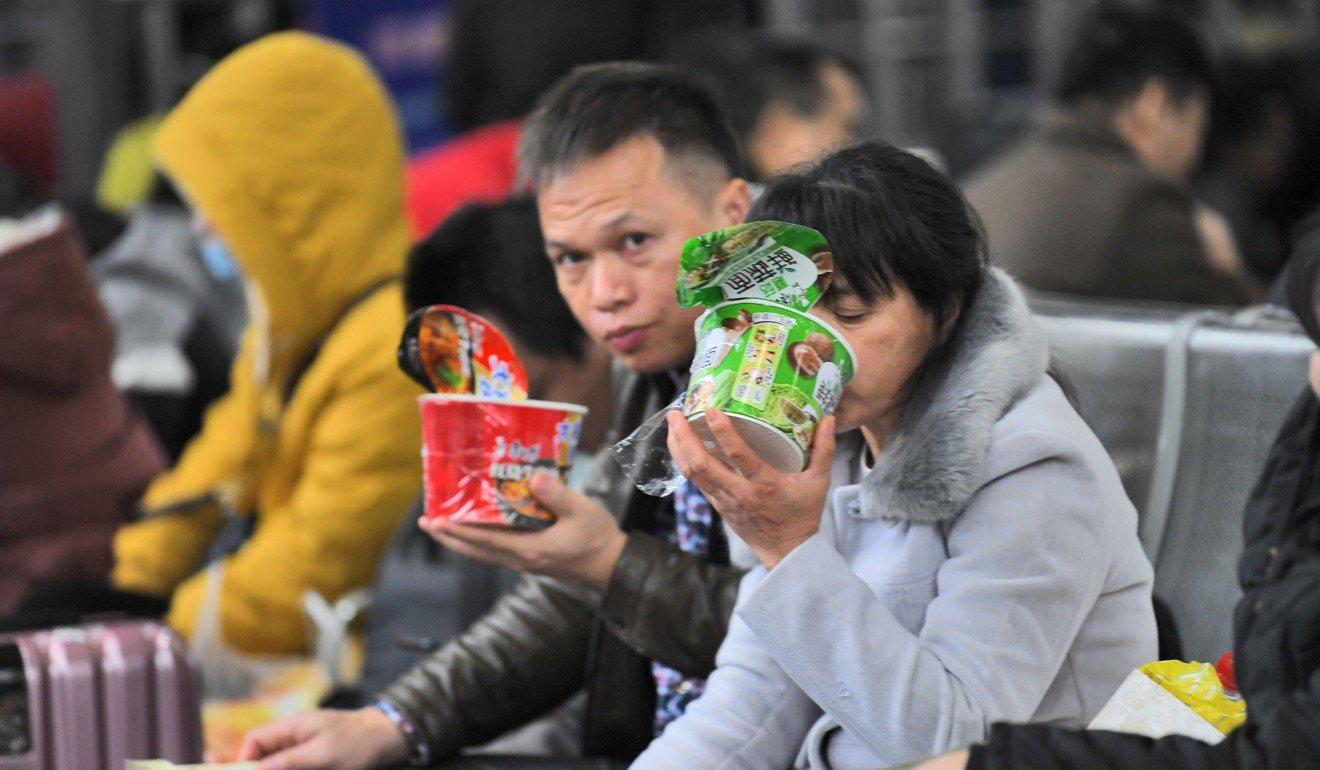Trung Quốc,mỳ ăn liền,mì ăn liền