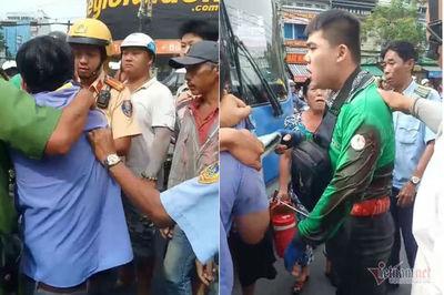 Tài xế xe buýt khai nguyên nhân đâm Grabbike trên phố Sài Gòn