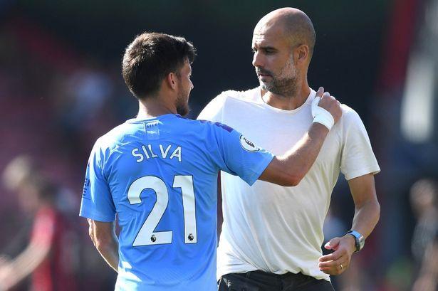 Man City,Pep Guardiola,David Silva