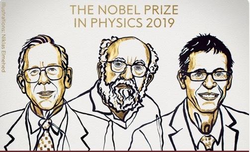 Nobel Vật lý 2019 vinh danh những phát hiện mới về vũ trụ