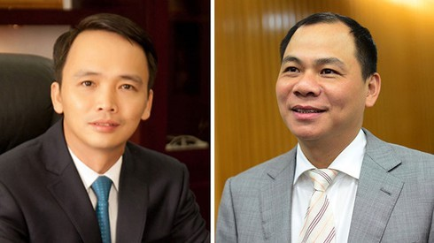 The wealth of the top 10 richest Vietnamese billionaires fluctuates year by year