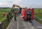 Xe khách lật xuống ruộng, 1 người chết, 20 người cấp cứu ở Hà Tĩnh