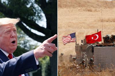 Thổ Nhĩ Kỳ dọa đánh sang Syria, ông Trump cảnh báo 'lằn ranh đỏ'