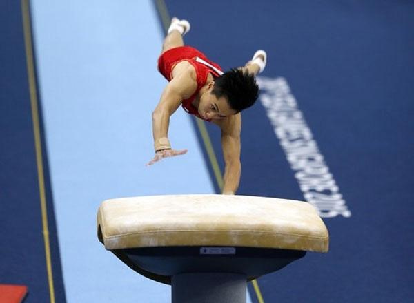 Gymnast Tung wins Olympic berth in Tokyo