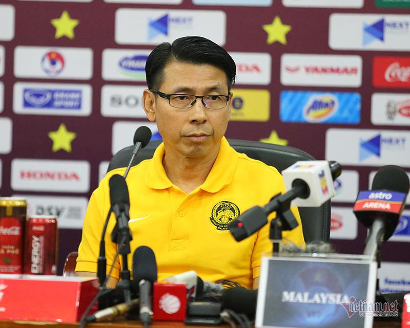 HLV Tan Cheng Hoe,HLV Park Hang Seo,tuyển Việt Nam,Tuyển Malaysia