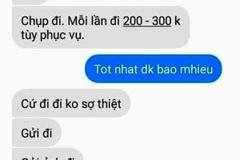 """Lộ tin nhắn thầy giáo Thái Bình  bị tố """"gạ tình"""" học sinh cũ"""