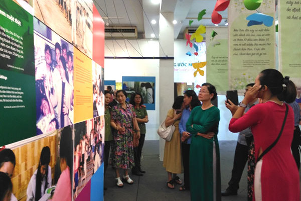 Exhibition shares orphans' dreams