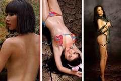 Trước vụ khỏa thân lên Mã Pì Lèng, loạt người đẹp Việt 'cởi hết' để bảo vệ môi trường