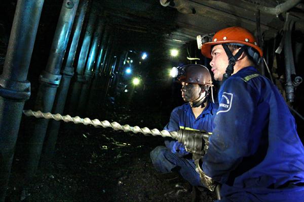 doanh thu,sản xuất than,khai thác khoáng sản