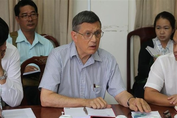 Mekong Delta's sea level rise alarming: US professor