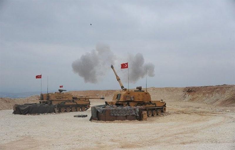 Syria,Thổ Nhĩ Kỳ,tấn công,chiến dịch mùa xuân hòa bình,bắn phá,Mỹ