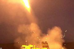 Hình ảnh Thổ Nhĩ Kỳ bắn phá dữ dội Syria