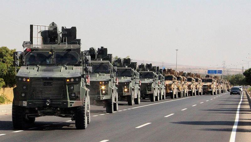 Mỹ,Syria,Thổ Nhĩ Kỳ,Iran,chiến dịch Mùa xuân Hòa bình,tập trận