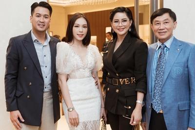 Linh Rin khoe ảnh tình cảm bên gia đình thiếu gia Phillip Nguyễn