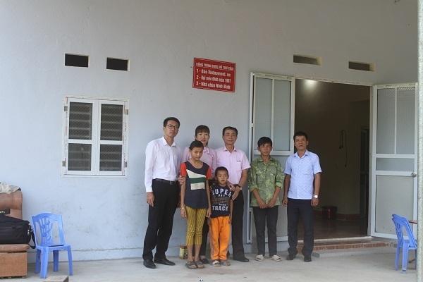 Khánh thành ngôi nhà mơ ước,Báo VietNamNet,hộ nghèo,Lai Châu