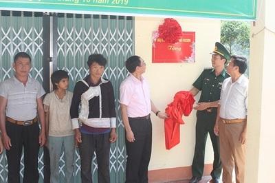 """Có Bộ đội Biên phòng, """"Ngôi nhà mơ ước"""" cho 2 hộ nghèo ở vùng biên giới thêm to đẹp"""