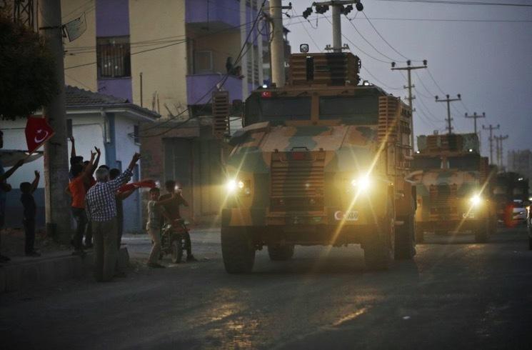 tấn công,Mỹ,Thổ Nhĩ Kỳ,Syria,tấn công Syria