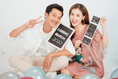 Diễn viên 'Thất sơn tâm linh' lên chức bố sau 3 năm kết hôn
