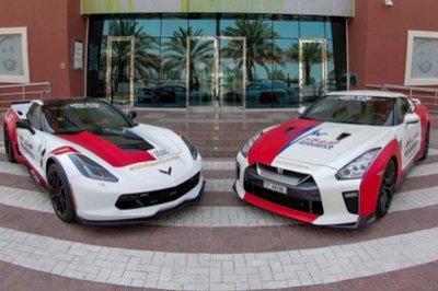 Dubai dùng siêu xe mã lực mạnh làm xe cứu thương