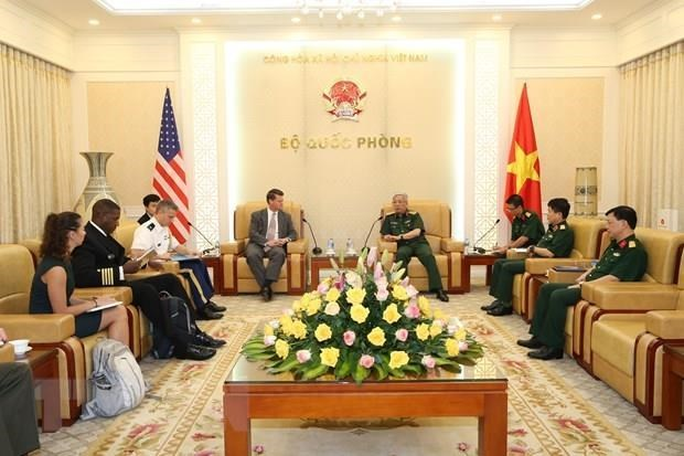 Vietnam, US seek to expand defence cooperation