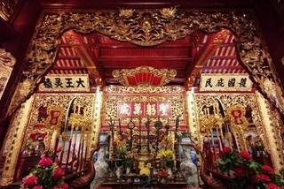 Four guardian god temples of Thang Long-Hanoi