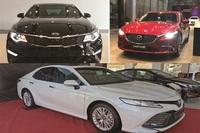 Sedan hạng D: Toyota Camry  tăng khủng,Mazda 6 dậm chân tại chỗ