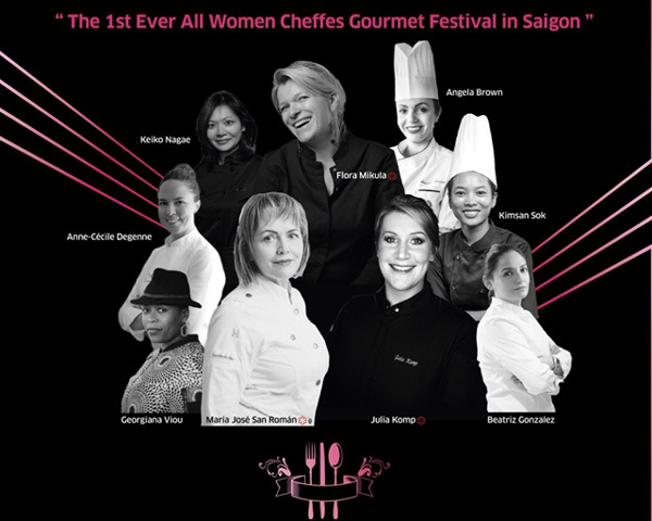 HCM City,the first All-Women Cheffes Culinary Festival,entertainment news,what's on,Vietnam culture,Vietnam tradition,vn news,Vietnam beauty,Vietnam news,vietnamnet news,vietnamnet bridge,Vietnamese newspaper,Vietnam latest news,Vietnamese newspaper artic