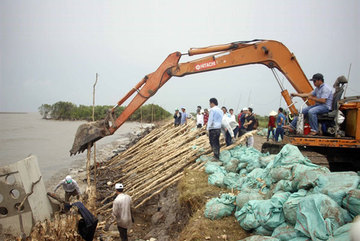 Land subsidence a big threat as Mekong Delta sucks out groundwater
